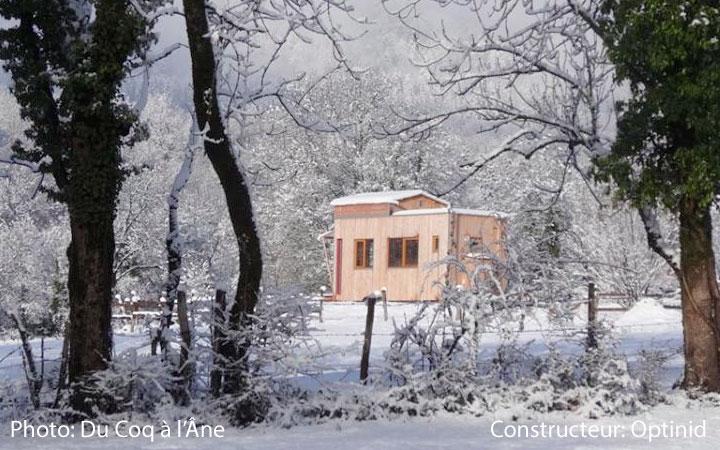 Carte des tiny houses en Suisse